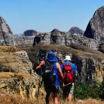 Trekking en famille dans le massif du Makay à Madagascar